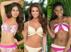 2014 Miss Universe Contestants—See All 88 Beauties in Bikinis! Miss India, Miss USA, South Africa, Miss Universe Swimsuit Pics, Swimsuits, Bikinis, Swimwear, Miss India, Miss Usa, Pageant, South Africa, Sexy