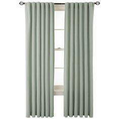 MarthaWindow™ Fairmount Basketweave Rod-Pocket/Back-Tab Cotton Curtain Panel  found at @JCPenney