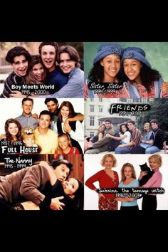 I love all of these sjows!! Except the nanny :P