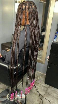 Box Braids Hairstyles For Black Women, Braids Hairstyles Pictures, Black Girl Braids, Braided Hairstyles For Black Women, African Braids Hairstyles, Baddie Hairstyles, Braids For Black Hair, Girls Braids, Hairstyle Short