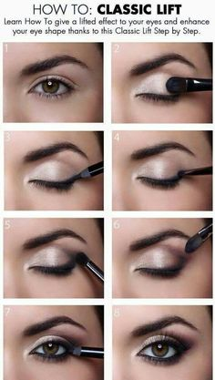 Radiant eye make-up - Beauty + Make Up - . - Radiant eye make-up – Beauty + Make Up – make up - Eye Makeup Tips, Makeup Hacks, Makeup Ideas, Makeup Eyeshadow, Eyeshadows, Makeup Trends, Easy Eye Makeup, Small Eyes Makeup, Eyeshadow Palette