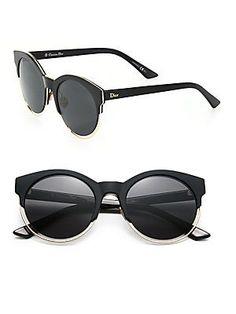 Dior Sideral 53MM Round Sunglasses