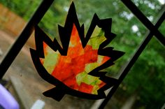 Leaf Stained Glass