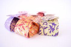 5 Small Favor Boxes Ring BoxWedding Gift Box Indian by PenandFavor