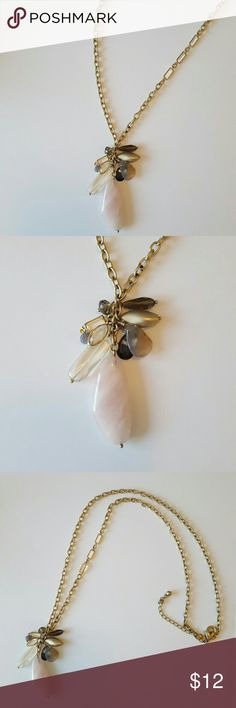 Chicos Necklace Beautiful pendant necklace from Chicos. Gives a flattering elongating look to any outfit. Good preloved condition. Chicos Jewelry Necklaces