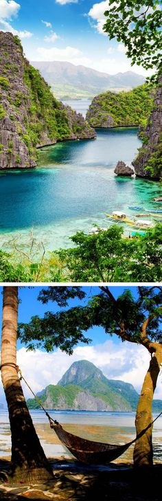 Palawan, Philippines Top 10 most beautiful islands in the world Philippines Beaches, Philippines Travel, Beautiful Places To Visit, Wonderful Places, Beautiful Islands, Beautiful World, Dream Vacations, Vacation Spots, Places To Travel
