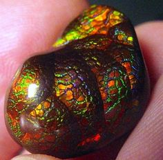 Awesome Fire agate stone that we saw online.