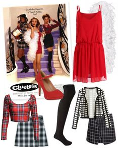 Want to have a major 90s moment with your friends this Halloween? Take a cue from the Clueless girls and replicate their signature looks.