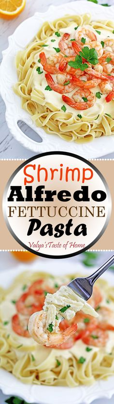 This Shrimp Alfredo Fettuccine Pasta is a majorly delightful crowd-gathering meal. And surprisingly not very long to make for how scrumptious and satisfying the meal is. What makes this pasta taste absolutely scrumptious is the Homemade Alfredo Sauce. It goes without say that it was used to adorn the dish. If you need something special to cook for a special occasion, this would do the job for you.