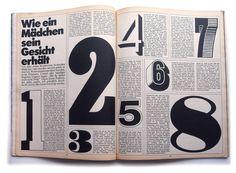 Willy Fleckhaus, entre école internationale et école Suisse, est le directeur artistique du magazine TWEN (1959-1970)