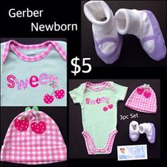 Just some of the CUTENESS we have available for your little princess.  Free Shipping with $30 Purchase.  https://baby-girl-heaven.myshopify.com