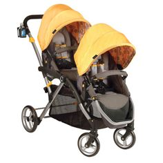 @Overstock - As an essential for parents with young kids, lightweight tandem strollers make travel, errands, and walks easier. With a design that easily folds, this adjustable double stroller has special details to make traveling with kids more convenient.http://www.overstock.com/Baby/Contours-Options-LT-Tandem-Stroller-in-Valencia/6976021/product.html?CID=214117 $259.99