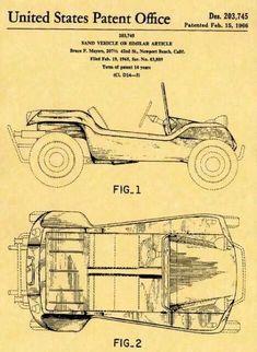 Patente Buggy Manx 1966