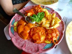 """Plate of pasta at """"La Tagliata"""" restaurant in Positano, Italy"""