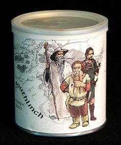 2002 HOBBIT Collectible Tobacco Tin SOUTHLINCH Pipe Weed Pease SEALED 2 oz. OOP