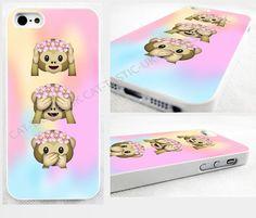 case,cover fits iPhone models Tie Dye,monkey, Emoji,emojis,bright,smiley,flowers