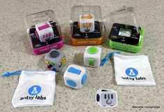 My Fidget Cubes just arrived from Antsy Labs...many thanks Mark and Matthew