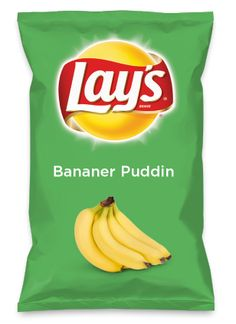 Wouldn't Bananer Puddin be yummy as a chip? Lay's Do Us A Flavor is back, and the search is on for the yummiest flavor idea. Create a flavor, choose a chip and you could win $1 million! https://www.dousaflavor.com See Rules. I would so eat this.