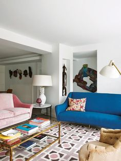 I am featuring this apartment in Madrid because it is fantastically eclectic, and because OMG W...