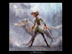 Arya by imaginism.deviantart.com on @DeviantArt
