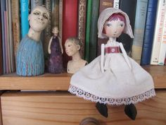 little lady with friends by jamjarart, via Flickr