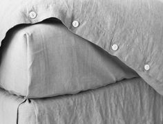 Smooth Natural Linen Sheet