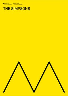 The Simpsons — a minimal poster