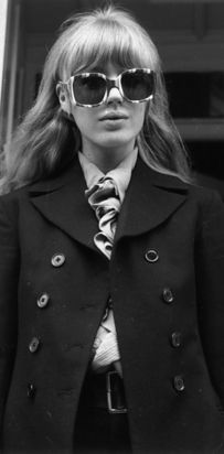 60 Iconic Women Who Prove Style Peaked In The '60s.  Marianne Faithful.