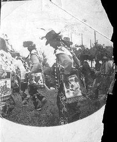Ojibwa dancers - circa 1900