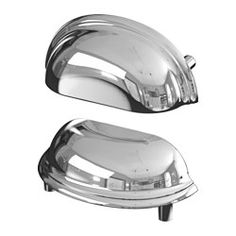 IKEA - FÅGLEBODA, Handle, black, , These handles give a sturdy grip thanks to the cup shape, and add a traditional look to your kitchen.