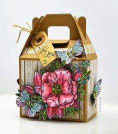 Peets Scrap Album: Botanical Garden Gable Box