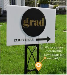 Simple and special graduation party ideas.  Perfect for Baby and Bridal Shower too!