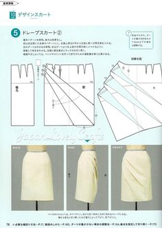 Items similar to Basic Sewing Dress Patterns, Japanese Sewing Pattern Book, Japanese Style Simple Skirt Pattern, Women Clothing, Sewing Tutorial Reference on EtsyAwesome 20 sewing tutorials projects are available on our web pages. Read more and you wont b Sewing Dress, Diy Dress, Knot Dress, Apron Dress, Wrap Dress, Dress Skirt, Japanese Sewing Patterns, Skirt Patterns Sewing, Apron Patterns
