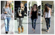 Cute DIY Ideas: DiY Ripped Jeans!