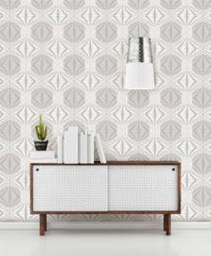 Geometrie Wallpaper Bool by Brewster - Arlington, TX