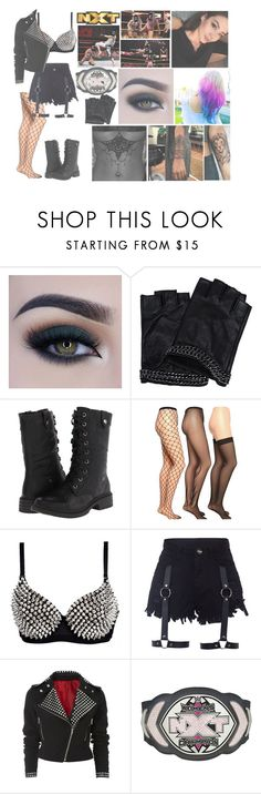 """""""🇺🇸🖤Dani🖤🇰🇷 - Welcome back"""" by wwedaninoel ❤ liked on Polyvore featuring Too Faced Cosmetics, Karl Lagerfeld, Wanted, Emilio Cavallini and WWE"""
