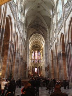 in Awe, Vitus Prague Castle, Beautiful Castles, Beautiful Places In The World, Czech Republic, Vienna, Budapest, Family Travel, Barcelona Cathedral, Scenery