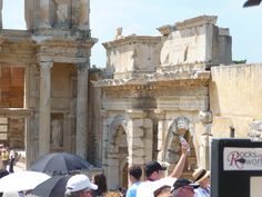 Augustus Gate at Celsus LIbrary
