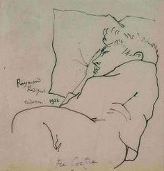 Raymond Radiguet vu par Jean Cocteau