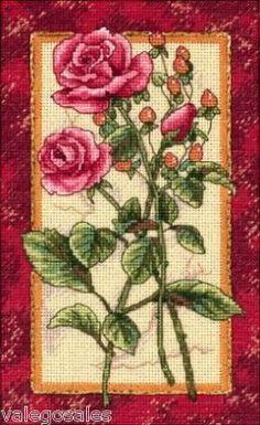 Dimensions Gold Counted crossstitch Rose Splendor