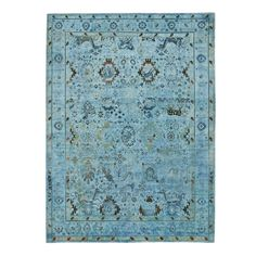 Color Reform Silk Overdyed Rug - 9'x11'10""
