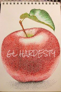 """""""Apple of my Eye"""" Apple artwork available as art prints from $15."""