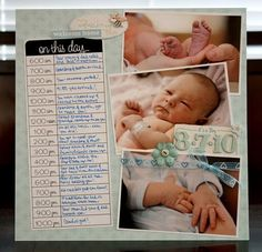 8 Scrapbook Layouts For Your Baby/Newborn Are you needing to get started on some memory keeping of your child in the baby/newborn stages, but need a little inspiration of where to begin? These 8 baby scrapbook layout ideas are great for… Baby Boy Scrapbook, Scrapbook Bebe, Album Scrapbook, Baby Scrapbook Pages, Pregnancy Scrapbook, Birthday Scrapbook, Scrapbook Sketches, Album Baby, Project Life Baby