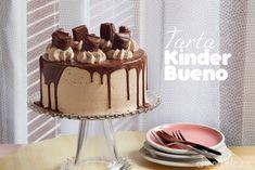Tarta Kinder Bueno Birthday Cake, Desserts, Blog, Sweet Treats, Tarts, Meals, Birthday Cakes, Deserts, Blogging