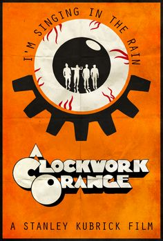 A Clockwork Orange - Alt. Minimalist Poster by edwardjmoran.deviantart.com on @DeviantArt