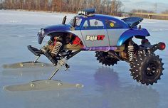 Traxxas Stampede: Now this is one trick Traxxas Stampede. Marc loves playing on…