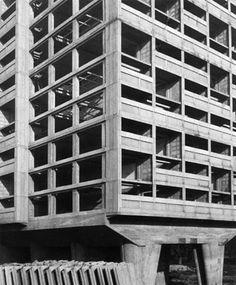 Le Corbusier - Unité d'Habitation (photography: Lucien Hervé)