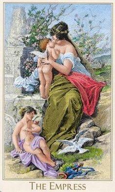 The Empress - III - Major Arcana | Tarot art