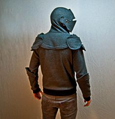 Suit of Armor Hoodie --  It's a hoodie. With armor like qualities. Dope!