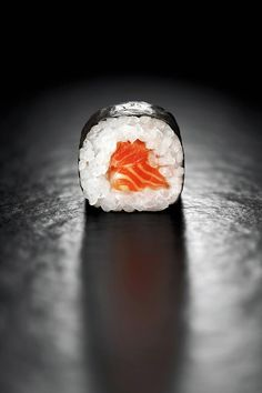 Maki Sushi Roll with Salmon by Johan Swanepoel Food Graphic Design, Food Design, Maki Sushi Roll, Gimbap, Rice Wraps, Salmon And Rice, Sushi Recipes, Sushi Design, Food Illustrations